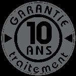 Garantie 10 ans sur traitement