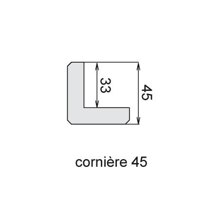 Cornière 45