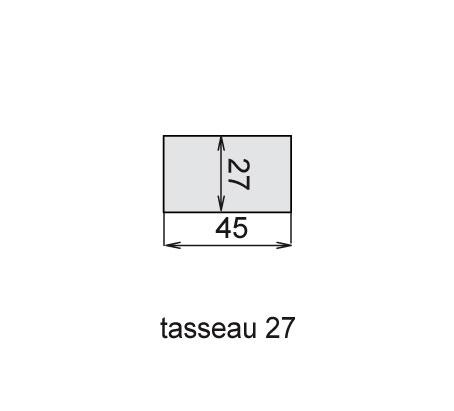 Tasseau 27x45