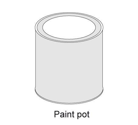 Finishing pot
